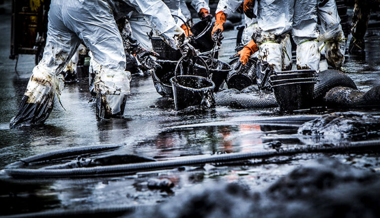 Oil Spill Cleanup - Golden Triangle DKI